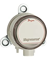 """Dwyer Magnesense Series MS Differential Pressure Transmitter, Positive Only Unit, 4-20 mA, High Range 1, 2, 5""""WC and 250, 500, 1250 Pa, Wall Mount"""
