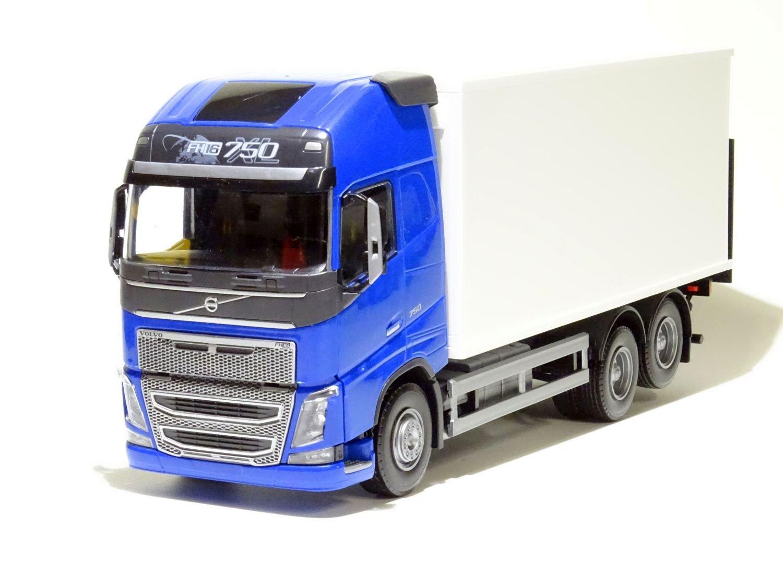 EMEK - 89114 - VOLVO FH NEW 3-achsiger Koffer-Lkw mit Hubbühne, blaues Fahrerhaus, Maßstab 1 25 B07B4ZWLRJ Miniaturmodelle Qualifizierte Herstellung  | Starke Hitze- und Hitzebeständigkeit