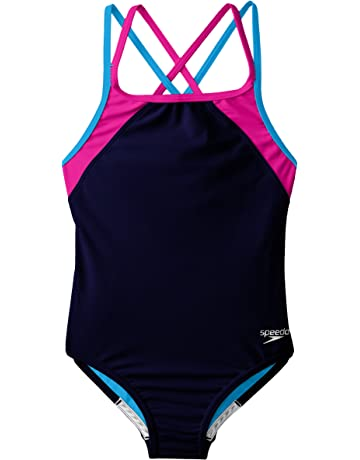 18bd06ac66ad6 Amazon.com  Girls - Swimwear  Sports   Outdoors  One-Piece Suits ...