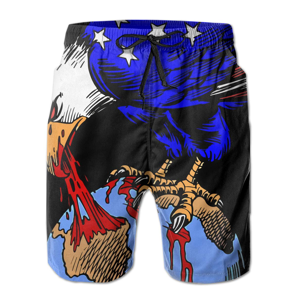 0099641330 White ROLLING HOP HOP HOP Men's Sports Swim Trunks Carlos Latuff Us  Imperialism Beach Board Shorts for Outside Home with Pockets 909697
