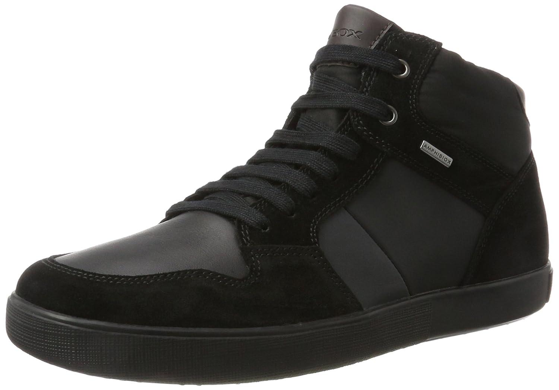 Black (Black Anthracite) Geox Men's U Taiki B ABX a High Sneaker