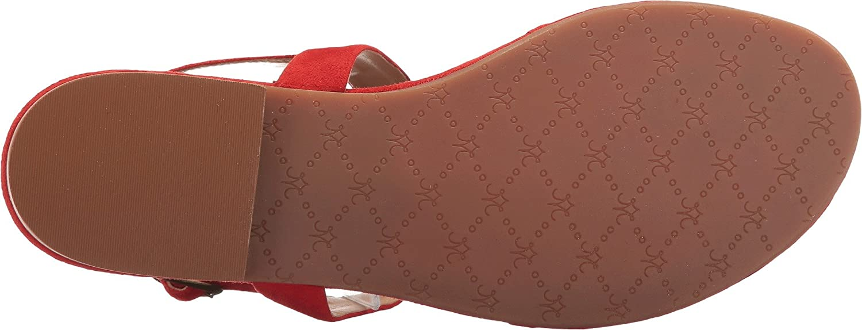 Johnston & Murphy Women's Holly Dress Sandal B01KYQSN1W 6.5 M US|Flamingo Red