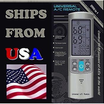 Amazon Com Universal Ac Remote Control Silver Grey For