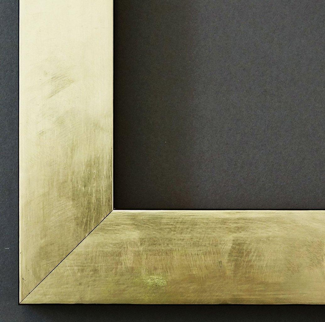 Bilderrahmen Lecce Gold 3,9 - WRF - 40 x 90 cm - 500 Varianten - alle Größen - handgefertigt - Galerie-Qualität Antik, Barock, Landhaus, Shabby, Modern - Fotorahmen Urkundenrahmen Posterrahmen