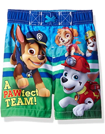 3ef47187ed Nickelodeon Boys' Paw Patrol Toddler Swim Trunk