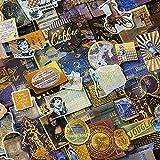 60PCS Foil Gold Scrapbook Stickers, Doraking DIY