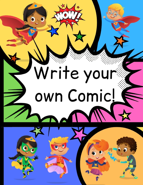 how to write comic books for kids