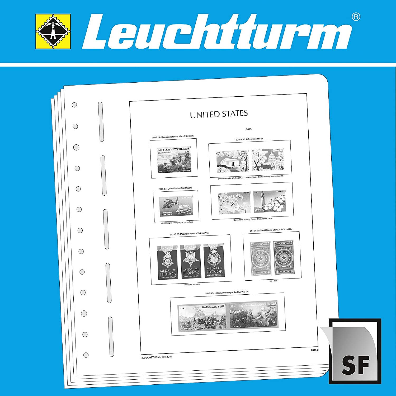 al precio mas bajo Leuchtturm SF-Hojas preimpresas EEUU 2015-2017 2015-2017 2015-2017  alta calidad