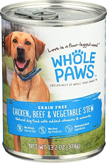 whole paws dog food review