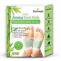 Samsali Foot Pads, Upgraded 2 in 1 Nature Foot Pads, Rapid Foot Care and Pain Relief...