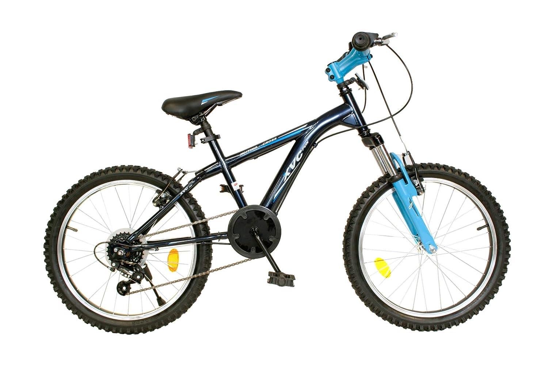 Milord. 2019 - Junior Mountainbike Alter 7-9 Jahre - Fahrrad - 5 Gang - Grau-Blau - 20 Zoll