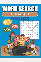 Word Search TV Sitcoms: 80's - 90's - 2000's Classic TV Sitcoms Word Find Puzzles Paperback