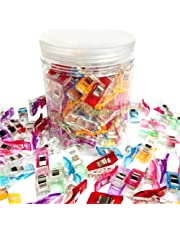 Sungpunet Pack of 100 Clips Clips Our Plastic Sewing Quilting Seam with Plastic Bottle
