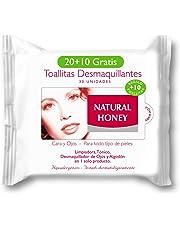 Natural Honey 7005328000 - Toallitas desmaquillantes, 20+10 toallitas. price2 ...