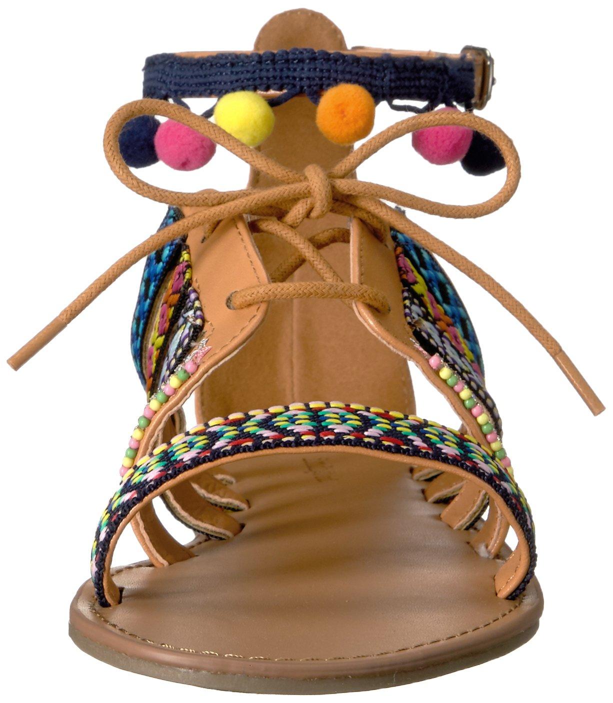 Indigo Rd. Women's Baria B(M) Flat Sandal B01M0DDIA9 9 B(M) Baria US|Pink/Multi 625c2f
