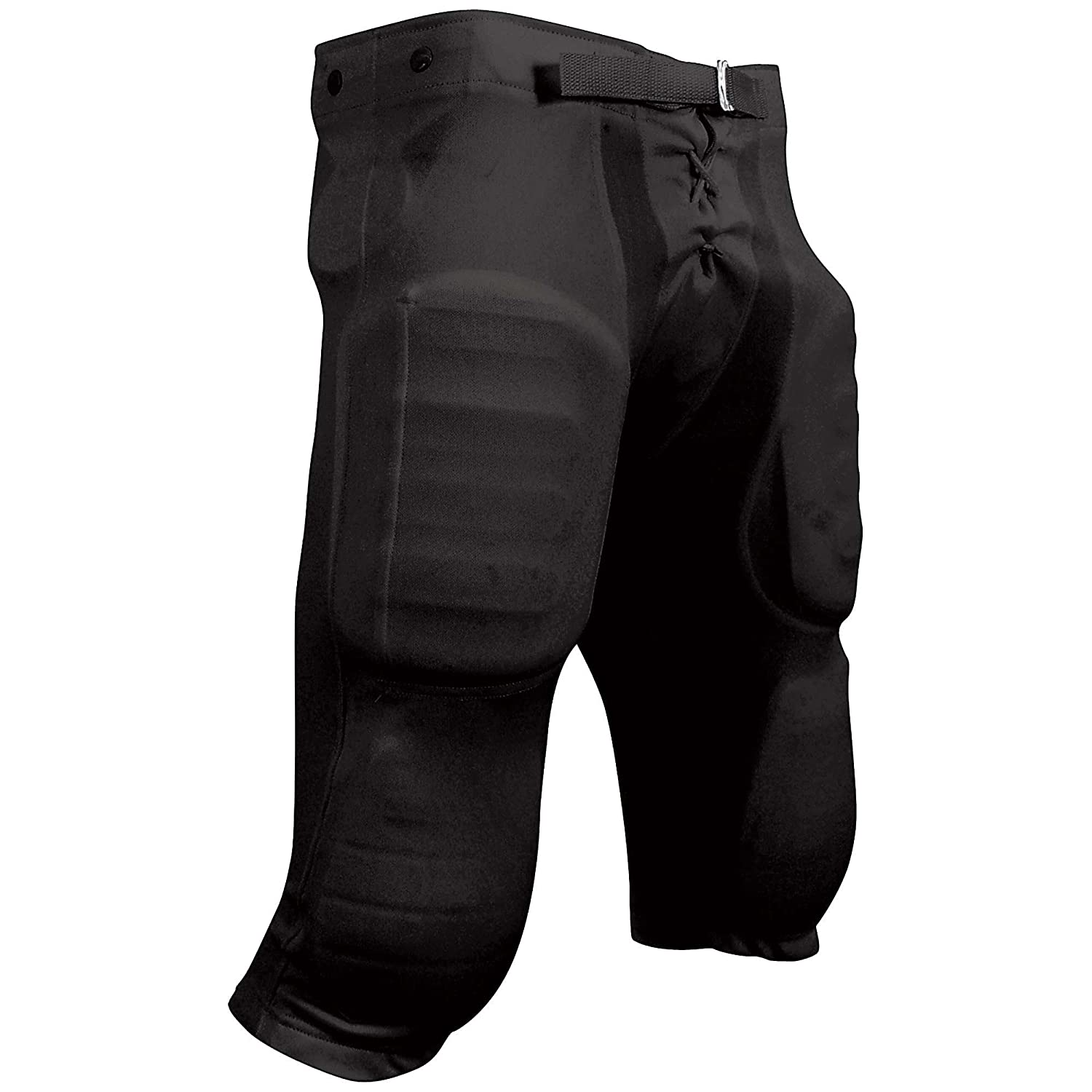 Champro Youth Football Pant With Snaps , 黒, XXL