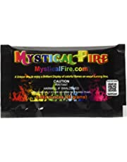 Mystical Fire Flame Colorant Vibrant Long-Lasting Pulsating Flame Color Changer for Indoor or Outdoor Use 25 g Packets 10 Pack