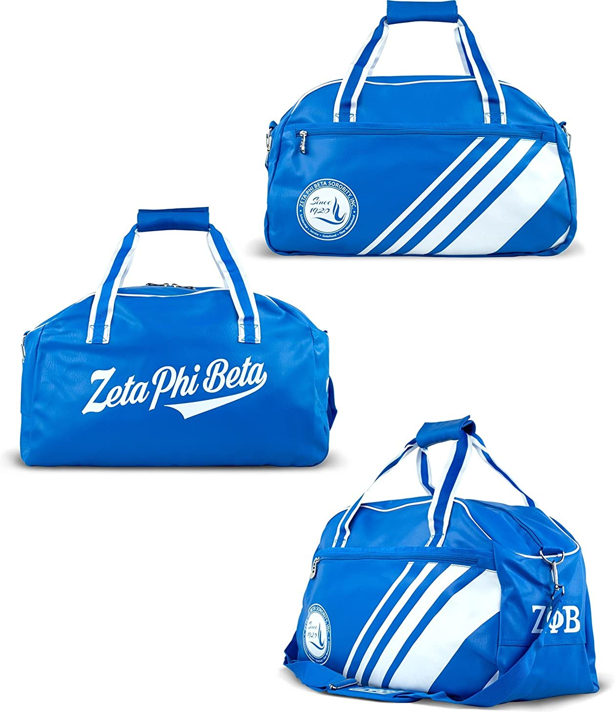 Big boy zeta phi beta divine pu leather duffle bag royal blue jpg 1258x1457 Duffle  bag 0a6bf13a423e9