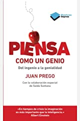 Piensa como un genio (Empresa) (Spanish Edition) Kindle Edition