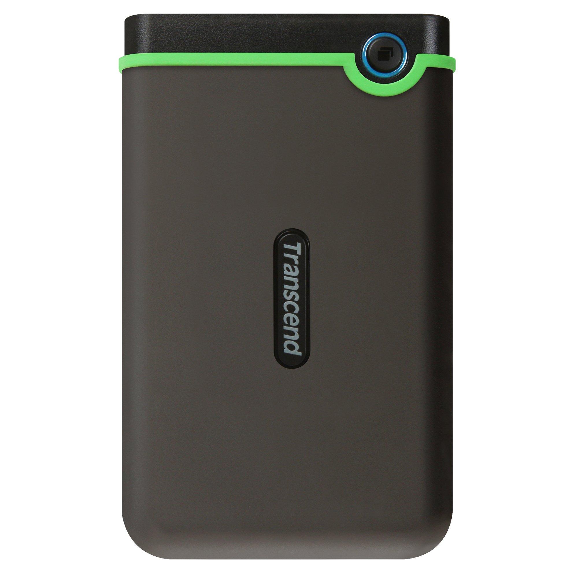 Transcend StoreJet 25M3S - Disco duro externo de 2 TB (USB 3.1 Gen 1)