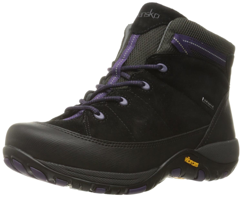 Dansko Women's Paulette Boot B01A06W86W 36 EU/5.5-6 M US|Black Suede