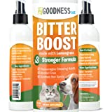 Fur Goodness Sake Bitter Apple Spray for Dogs to Stop Chewing - Anti Chew Spray for Dogs - No Chew Spray for Dogs Natural Lem