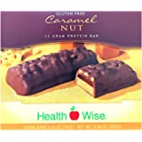 Healthwise - High Protein Diet Bar - Caramel Nut - 12g Protein- for Any Diet- Hunger Control and Appetite Suppressant - Low C