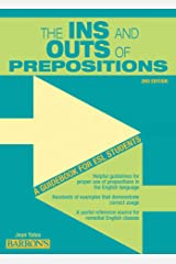 Ins and Outs of Prepositions: A Guidebook for ESL Students Paperback