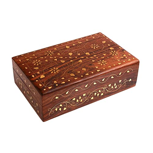 Decorative Wooden Box Amazoncouk Stunning Decorative Wooden Boxes With Lids