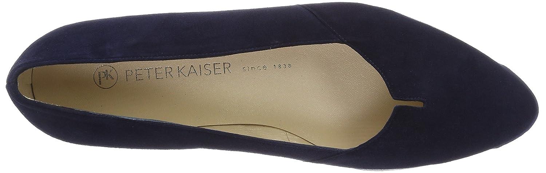 Peter Kaiser Suede Damen Valera Ballerinas Blau (Notte Suede Kaiser 104) ab0445