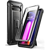 SUPCASE Unicorn Beetle Pro Series Case Designed for LG V60 ThinQ (2020 Release),Full-Body Rugged Holster & Kickstand Case wit