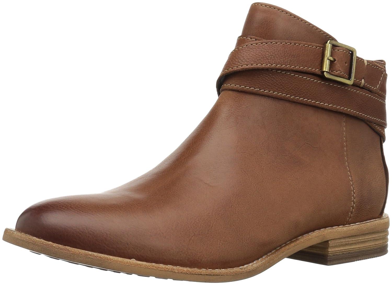 CLARKS Women's Maypearl Edie Ankle Bootie B01N4GBKKQ 8.5 B(M) US|Dark Tan