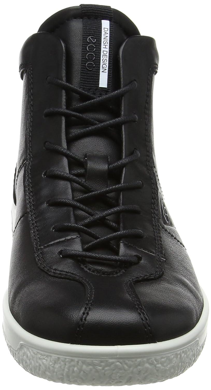 Ecco Damen Soft 1 (schwarz) Ladies Sneaker Schwarz (schwarz) 1 8efa1c