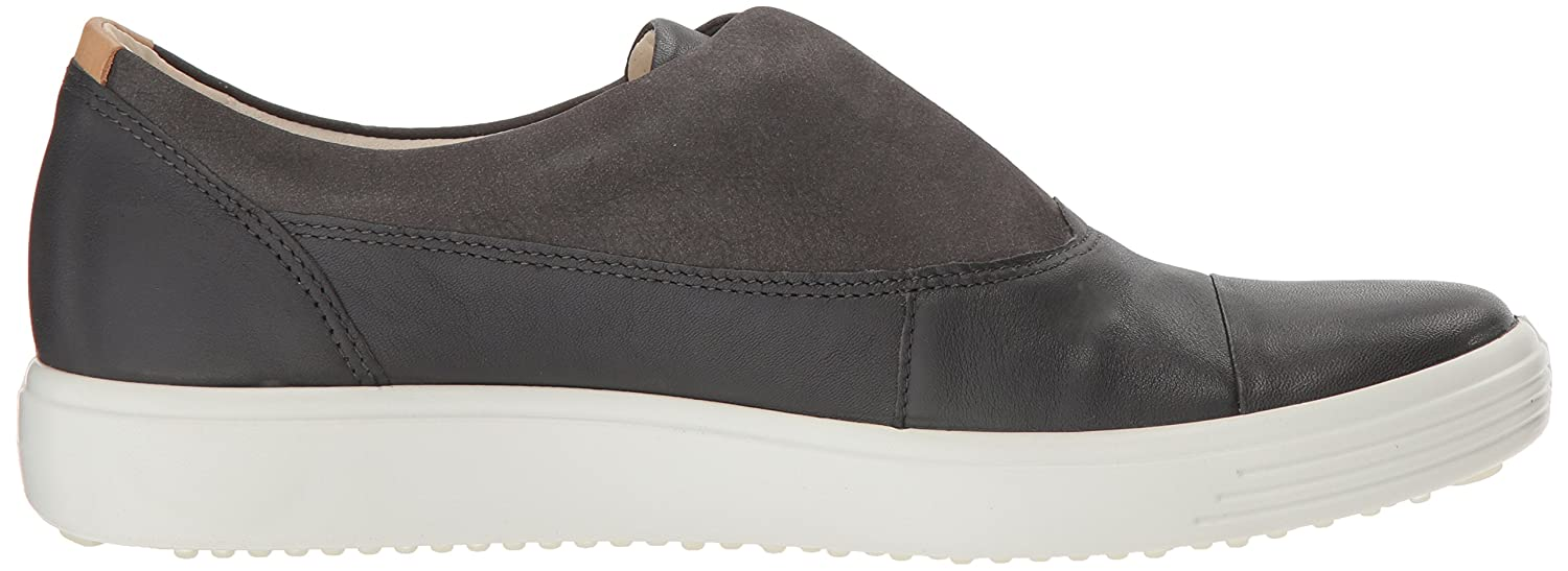 ECCO Women's Soft 7 Slip-on Sneaker B07713FJWV 35 M EU (4-4.5 US)|Dark Shadow/Moonless Ii