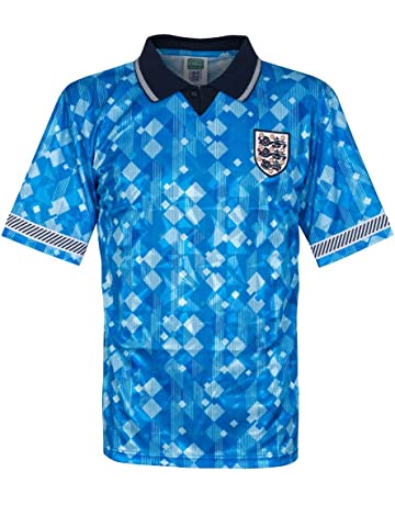 823bcf5df30 Official Retro England 1990 World Cup Finals Retro Third Shirt 100%  POLYESTER