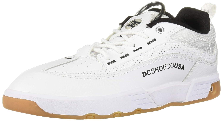 Blanc DC chaussures DCADYS100445 - Legacy 98 Slim Homme 49 EU