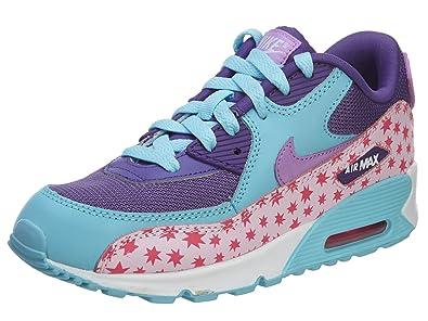 pretty nice b61e9 d0d63 ... canada nike air max 90 premium mesh ps mädchen sneaker pink rosa  azzurro f5d12 0509b