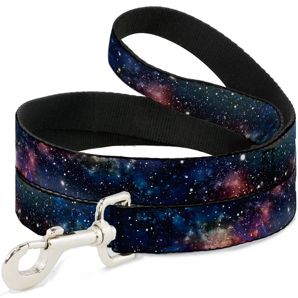 6 Feet Long 1\ Buckle-Down Space Dust Collage  Dog Leash, 6'