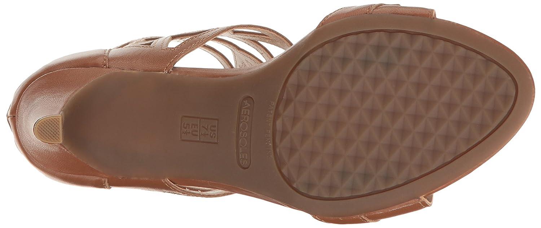 Aerosoles Women's Salamander Dress 7 Sandal B06WP5PV77 7 Dress M US|Dark Tan Leather 055da5