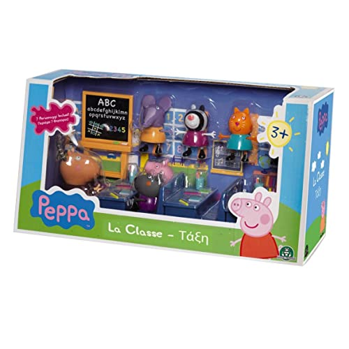 Peppa - 4962 - Salle de Classe avec 7 Personnages
