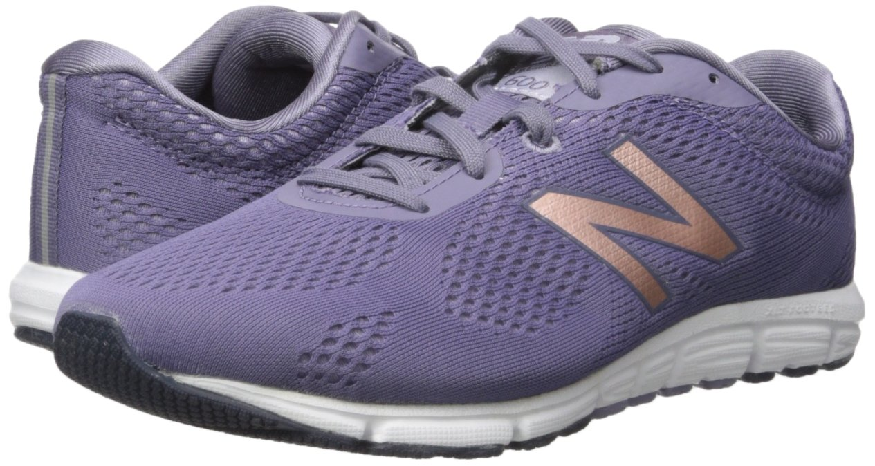 New Balance Women's 600v2 Natural Running Shoe B01M0K9704 11 B(M) US|Deep Cosmic Sky/Cosmic Sky