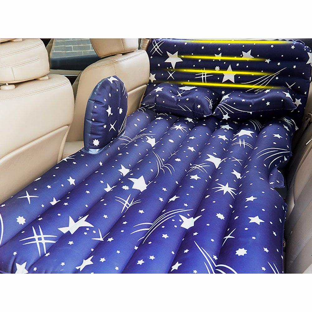 Inflatable Mattress Car Travel Air Matratze, GM Rear Seat Kissen Sleep Rest Kinder Spielen Intimate Sports, eingebaute Elektrische Pumpe und Kissen, in Zwei Farben erhältlich.