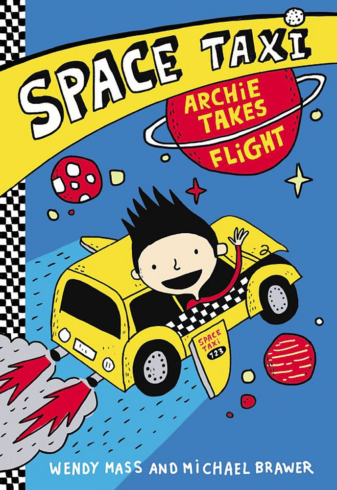 The Best Chapter Books for 1st Graders featured by top Seattle lifestyle blogger, Marcie in Mommyland: Space Taxi