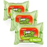 Boogie Wipes Gentle Saline Nose Wipes Original Fresh Scent, 30 Count (Pack of 3)