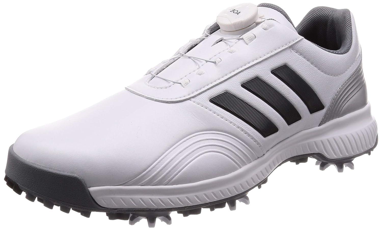 [アディダスゴルフ] ゴルフスパイク CP トラクション ボア メンズ ホワイト/グレーシックス/シルバーメット 27 cm