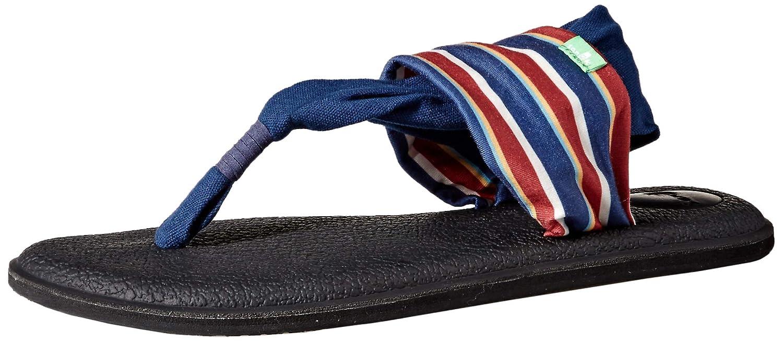 Sanuk Damen Yoga Sling Sling Sling 2 Prints Zehentrenner  32187c