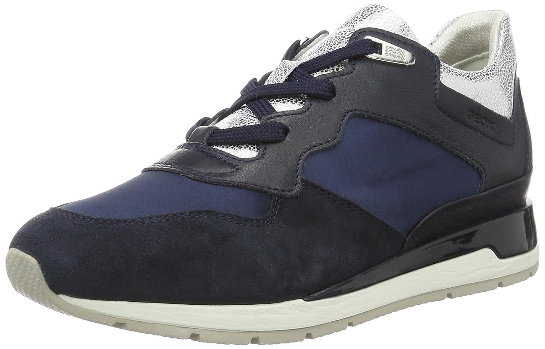 Geox D Shahira B, Zapatillas para Mujer 41 EU Azul (Navyc4002)