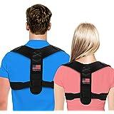 Posture Corrector For Men And Women - Adjustable Upper Back Brace For Clavicle To Support Neck, Back and Shoulder (Universal