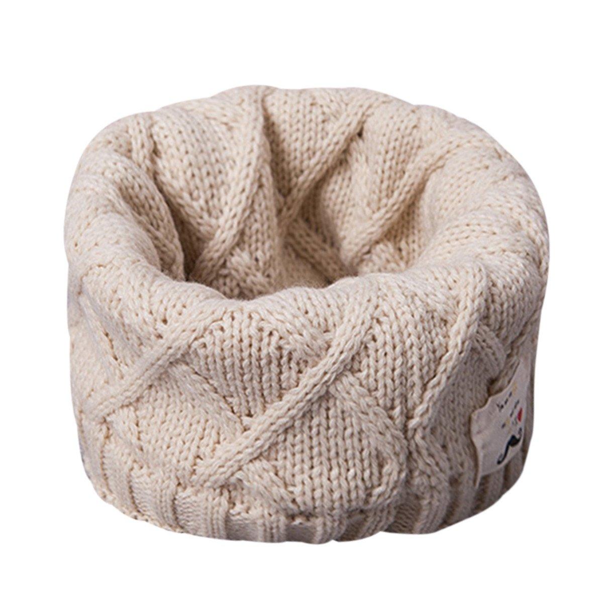 MIOIM Bebé Niños Niñas Bufanda de Cuello de lana para Otoño Invierno product image