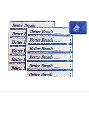 Better Breath Nasal Strips Medium Anti-Snoring (55mm*16mm)